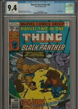 Marvel Two in One #40 Black Panther CGC 9.4