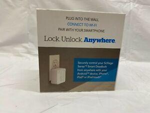 Schlage Sense Wi-Fi Adapter, Pairs w/ Schlage Sense Deadbolt (Sold Separately)