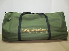 Budweiser Outdoors Conservation Tent, 2 Chairs, Cooler Table, Carry Bag - NEW