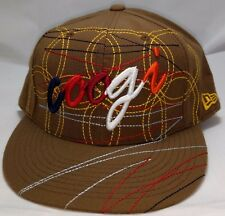 COOGI hat cap fitted 7 5/8 new era brown australia 59 Fifty 5950 sweater