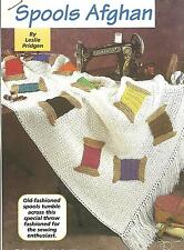 *Spools Afghan crochet PATTERN INSTRUCTIONS