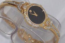 "New womens  Ladie's Movado kara 0605249 ""0.90ct.aprx. custom set Diamond Watch."