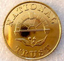 AUSTRALIA: NATIONAL TRUST OBSERVATORY HILL NEW SOUTH WALES MEDALET 33MM!