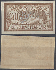 FRANCE MERSON N°120 TIMBRE NON DENTELÉ IMPERF 1900 NEUF ** LUXE MNH