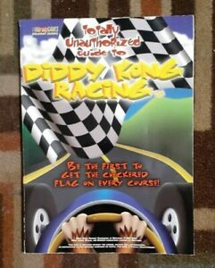Diddy Kong Racing Bradygames Strategy Game Guide Rare Guide N64