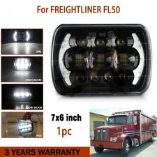 "7""X6"" LED Headlight For Freightliner FL106 FL112 FL60 FL70 FL80 FS65 MT35 MT45"
