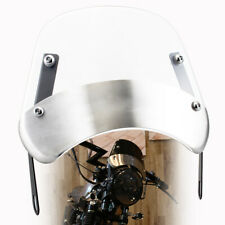 5-7'' Motorcycle Round Headlight Fairing Front Windshield Bracket Set  Universal