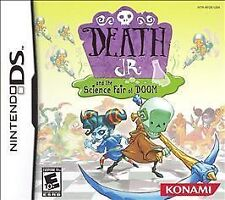 Death Jr. and the Science Fair of Doom (Nintendo DS) Lite Dsi xl 2ds 3ds XL