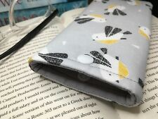 Handmade Bird fabric glasses case