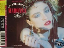 MADONNA ON THE STREET uk MAXI CD