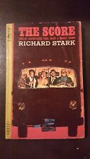"Richard Stark, ""Score,"" 1964, Pocket 35014, VG, 1st"