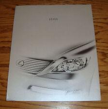 Original 2008 Lexus LS Deluxe Sales Brochure Portfolio w/8 Plates 08