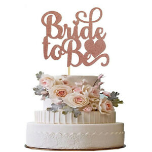 Bride To Be Cake Toppers Team Bride Cake Decor for Bridal Shower Wedding ParSI