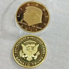 2017 Donald Trump Eagle Coin Make America GREAT Again 45th President USA Liberty