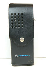 Vintage Motorola Leather Radio Holdster Pouch