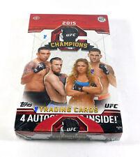 2015 Topps UFC Champions Hobby Box Sealed (20 Packs)