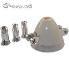 Klappspinner f. Klappluftschraube 45mm incl. Klemmkonus 3,17mm, 4mm, 5mm Welle