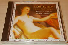 MONTEVERDI-OTTAVO LIBRO DEI MADRIGALI V1-CD 1997-CONCERTO ITALIANO-NEW & SEALED