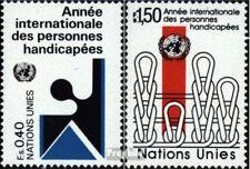 VN - Genève 97-98 postfris 1981 Behindertenjahr