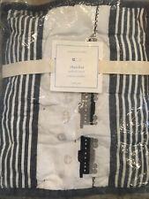 Pottery Barn Kids Thatcher Small Deco Pillow Sham Trains Blue White New