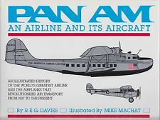 New Pan Am An Airline and Its Aircraft  An Illustrated History by R.E.G. Davies