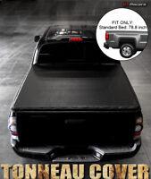 For 2007-2014 Chevy Silverado/GMC Sierra 6.5 Ft Bed Snap-On Vinyl Tonneau Cover