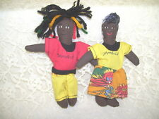 SOFT SCULPTURE DOLLS OF JAMAICA SET 2
