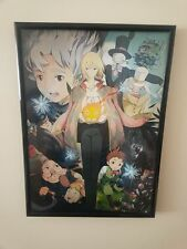 Howl's Moving Castle, Hayao Miyazaki A4 Framed Poster 260GSM