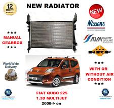 pour Fiat Qubo 225 1.3 D MULTIJET 2008> NEUF Moteur Radiateur qualité fabricant