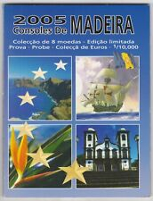 More details for 2005 madeira trial eight coin euro set in a card pack in near mint condition.