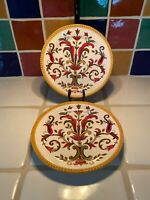 Pier 1 Imports Oralia Salad Plates Set Of 2-6 Sets Avail