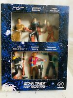 1994 Star Trek Deep Space Nine Set of 6 Collectible Figurines by Applause New