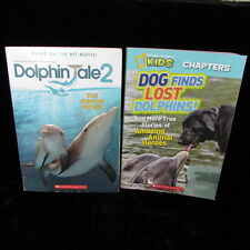 Dog Finds Lost Dolphins Animal Heroes Nat Geo Kids Dolphin Tale 2 Junior Novel