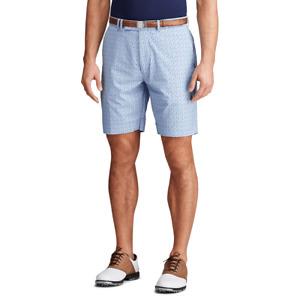 "Polo Ralph Lauren (RLX) Men's Golf Chino 9"" Shorts Spyglass Blue Size 33 NWT 🔥"