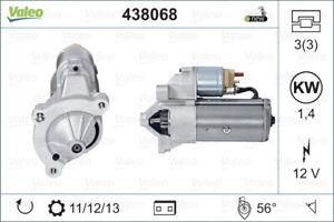Valeo Starter Motor 438068 fits Citroen BX 1.6, 1.6 E, 1.9, 1.9 CAT, 1.9 GTi,...