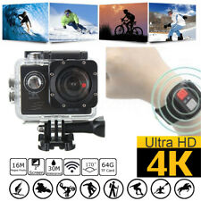 "4K SJ8000R 2"" Waterproof Remote Wifi Sport Action Camera DV 1080P HD Cam DVR"