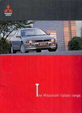 Mitsubishi Galant 1998 UK Market Sales Brochure Saloon Estate 2.0 GLS 2.5 V6