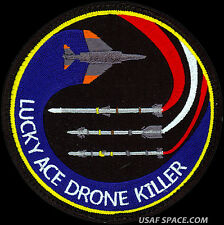 USAF 83rd FIGHTER WEAPONS SQ - LUCKY ACE DRONE KILLER -ORIGINAL AIR FORCE PATCH