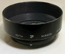 Nikon F Nikkor Hood Shade Metal Snap on for 50mm f1.4 58mm 1:1.4 Ai Ai-s 52mm