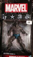 "Marvel Universe 3.75"" 3 3/4""Avengers infinite series Dark Beast figure x-men"