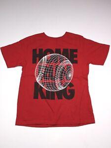 Place Est 1989 Boys Shirt Size 7-8 M Short Sleeve Red -Baseball Logo-