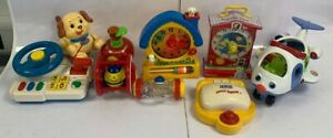 Bundle of Vintage Traditional Children's Games Toys Fisher Price Retro #796