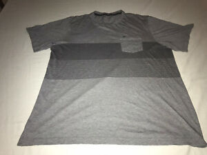 Travis Matthew Pocket T-shirt Gray Graphic Mens Size XL EUC!