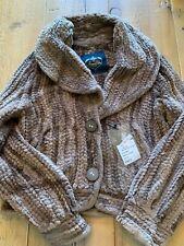 Franco Vello Beaver Fur Knit Coat, Size 10