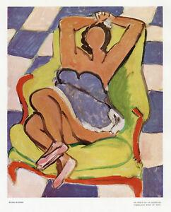 """Henri Matisse """"Le repos de la danseuse"""" from Verve 1945"""