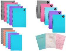 Premium A4 A5 Wirebound Notebook Hardback Softcover Stylish Refill Pad School