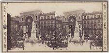 Milan Milano Italie Italia Icilio Calzolari Vintage albumen ca 1875