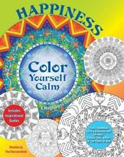 NEW - Happiness: A Mindfulness Coloring Book (Color Yourself Calm Series)