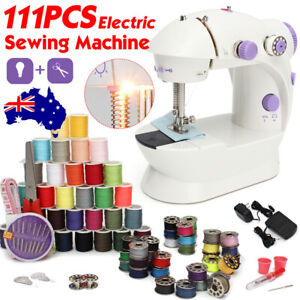 17× Electric Mini Multi-Function Portable Hand Held Desktop Home Sewing Machine
