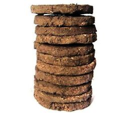 10x Cow Dung CowDung Cake Gobar Upla Chana Kanda Desi Indian Cow Dung